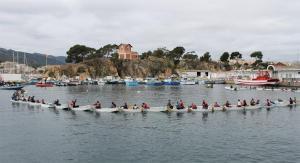 Imatge de la regata a Sant Felix.