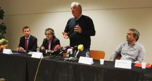 Imatge de la roda de premsa.