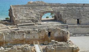 Entre altres espais, visitaran l'amfiteatre de Tarragona.