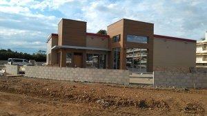 L'edifici del nou Burger King està pràcticament construït.