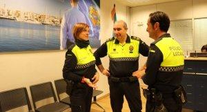 Agents de la Policia Local de Cambrils