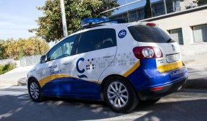 Imatge d'un cotxe patrulla de la Policia Local de Cambrils.