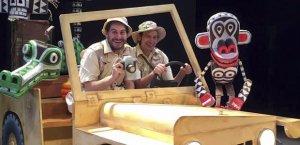 La companyia La Baldufa ofereix l'espectacle «Safari».