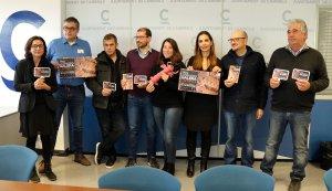 Autoritats i entitats col·laborades van presentar les Jornades de la Galera.