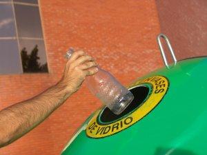 El vidre es pot reciclar al 100%.