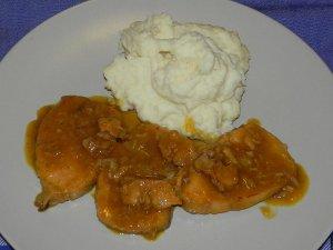 Llom de porc a la taronja