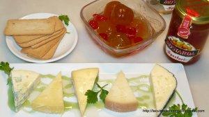 Maridatge de formatges i mostarda