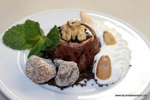 Panacota de xocolata