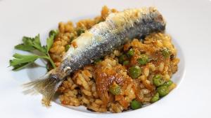 Arròs de sardina