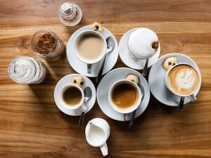 Aprèn on servir cada tipus de cafè