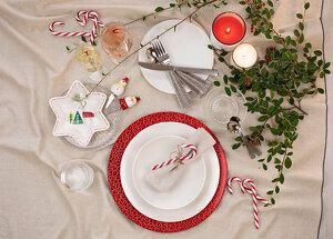 Proposta de decoració de taula nadalenca de Catalunya Cuina i Culinarium