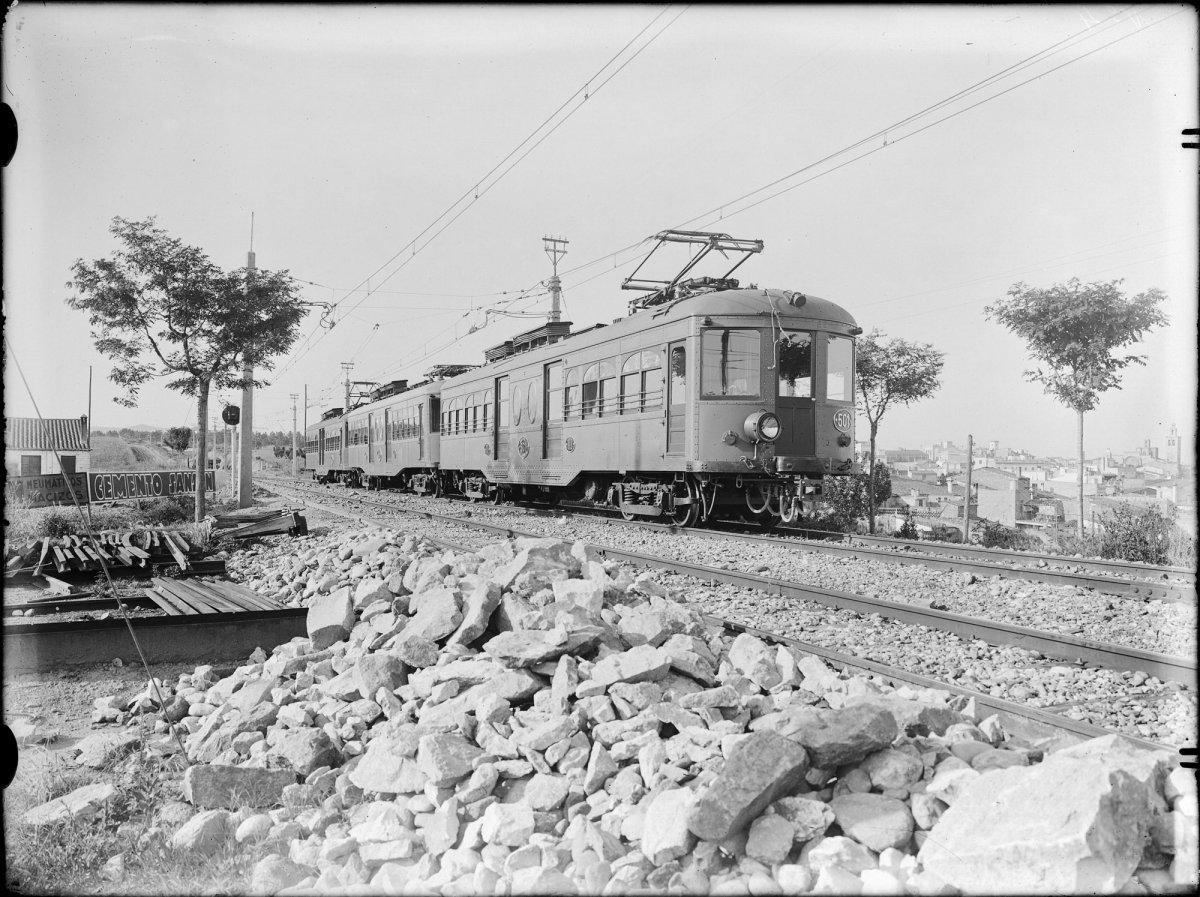 Catalunya m 39 agrada 100 anys del primer viatge en tren a - Temperatura actual en sant cugat del valles ...