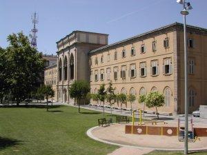 L'edifici del rectorat, el Seminari de Lleida