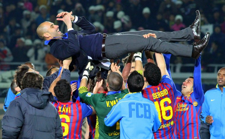 Pep Guardiola, l'any 2011
