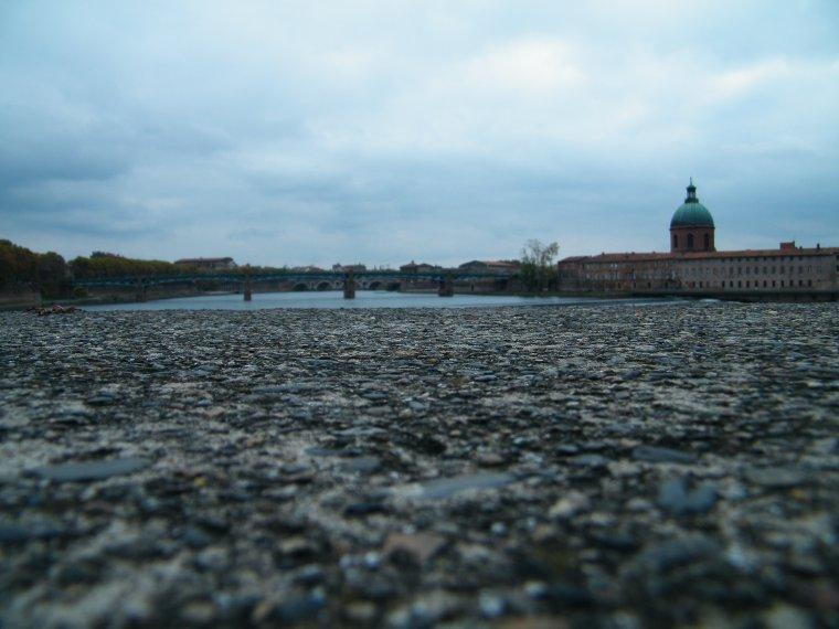 El Garona al seu pas per Toulouse