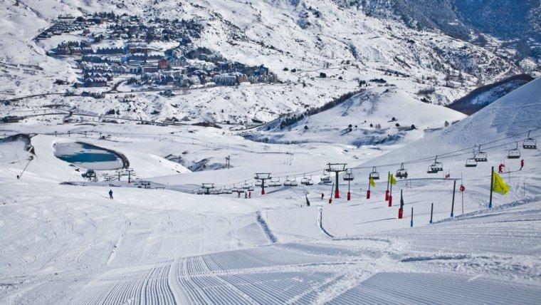 L'estació d'esquí de Baqueira-Beret