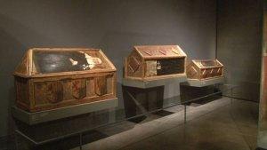 Les obres de Sixena que s'exposaven al Museu de Lleida
