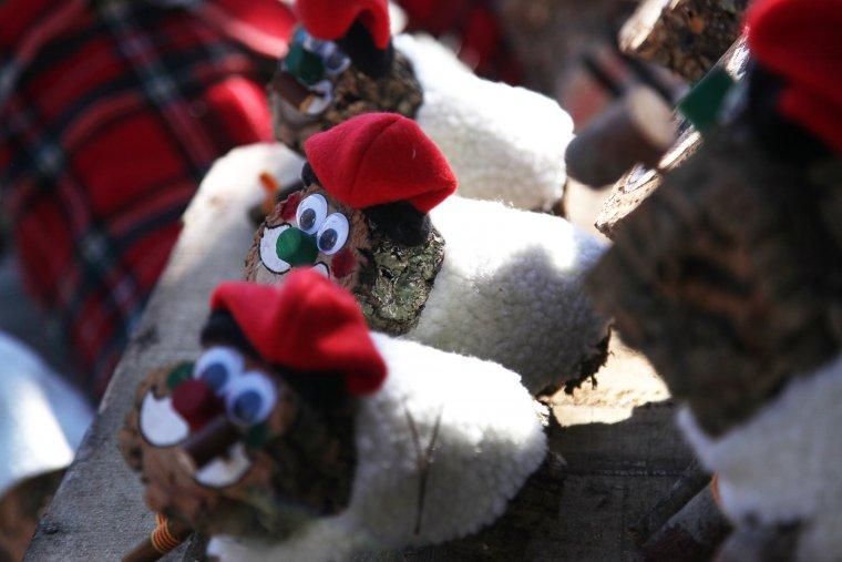 A les fires de Nadal s'hi pot trobar de tot