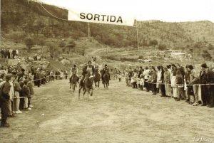 Foto històrica de La Corrida de Puig-reig
