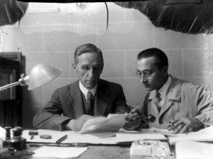 Pompeu Fabra i Josep Miracle