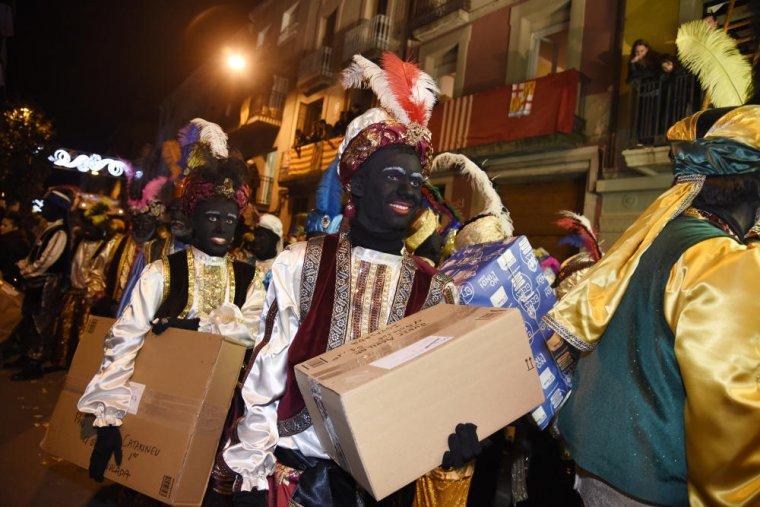 Els reis arriben a Igualada