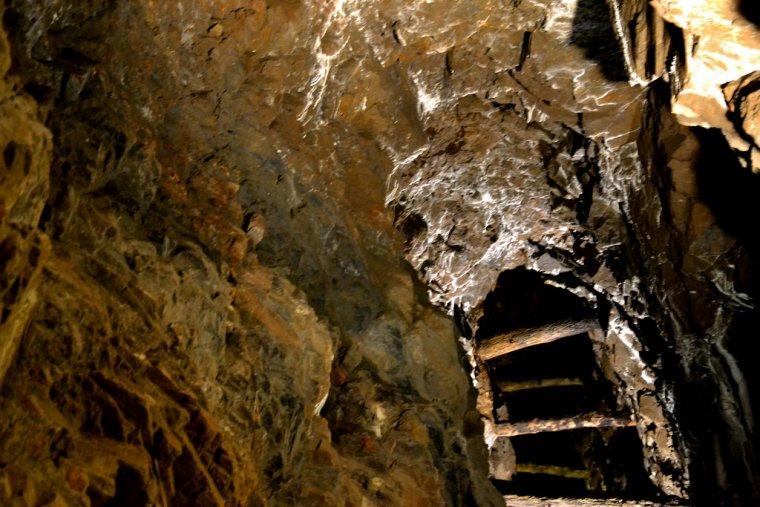 Interior de la Mina Eugènia