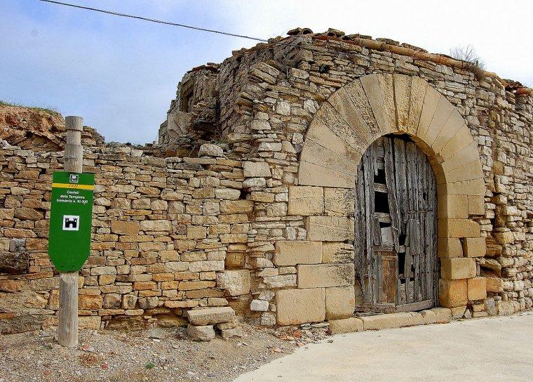 Restes del Castell de Granyena