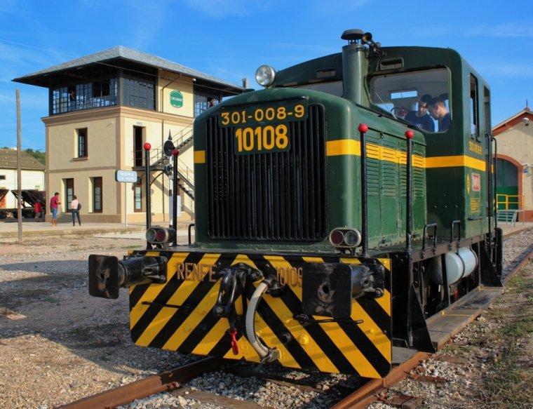 El Centre d'Interpretació del Ferrocarril