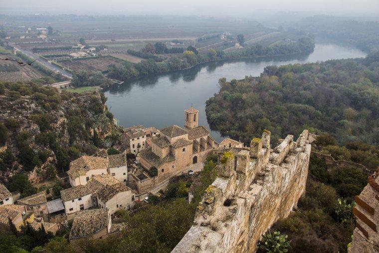 Miravet, a la Ribera d'Ebre