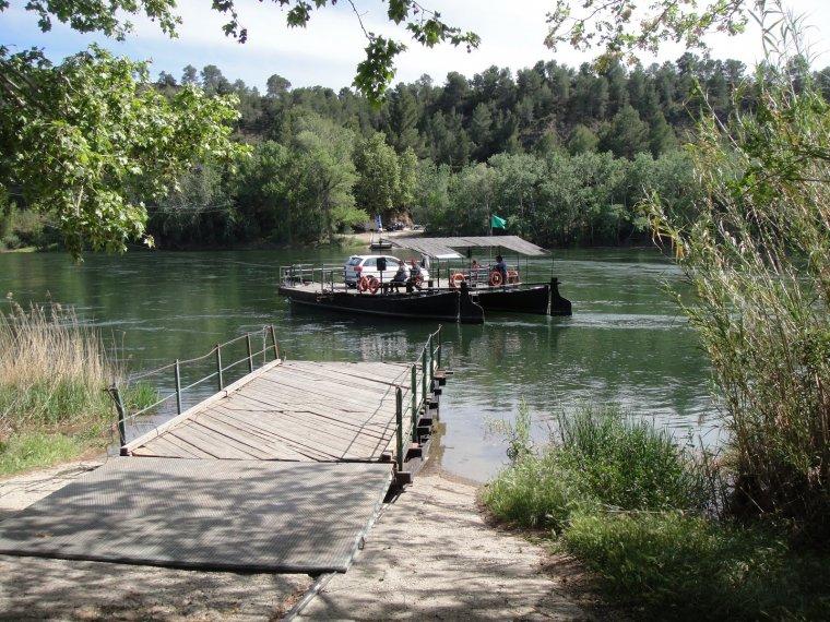 Pas de la barca de Miravet