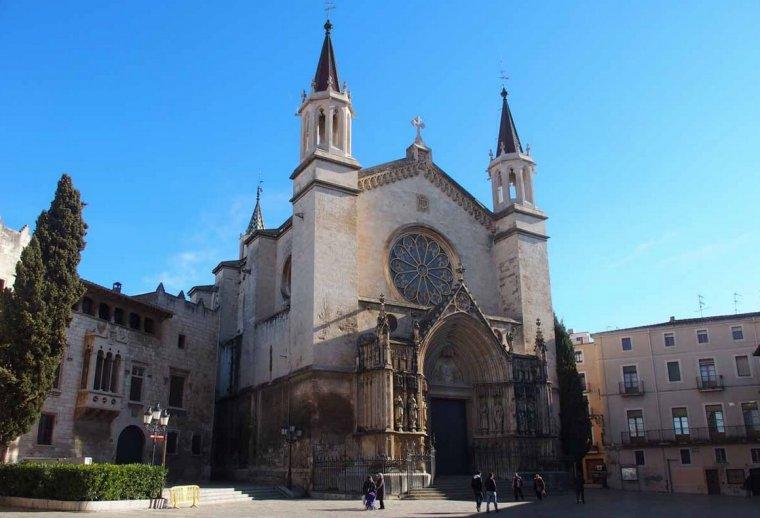 Basílica de Santa Maria a Vilafranca del Penedès