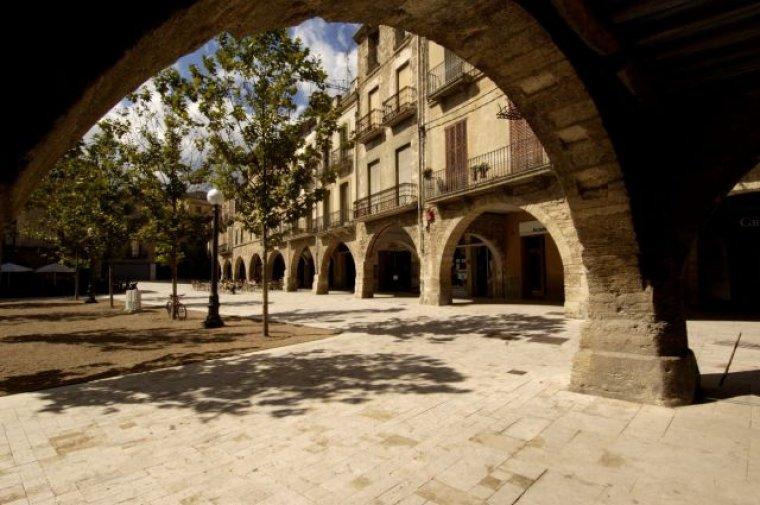 Plaça Major de Banyoles