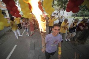 Diferents municipis celebren diferents actes per rebre la Flama