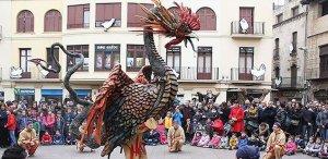 El bestiari festiu forma part de les celebracions dels diferents municipis