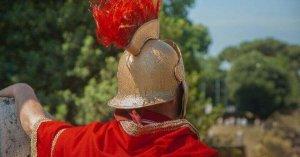 Festa romana a Sant Boi