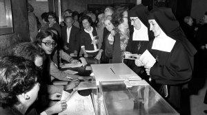 Imatge de les eleccions de 1977