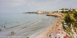 Un dels grans atractius de Sitges són les seves platges