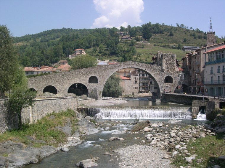 El pont de Camprodón