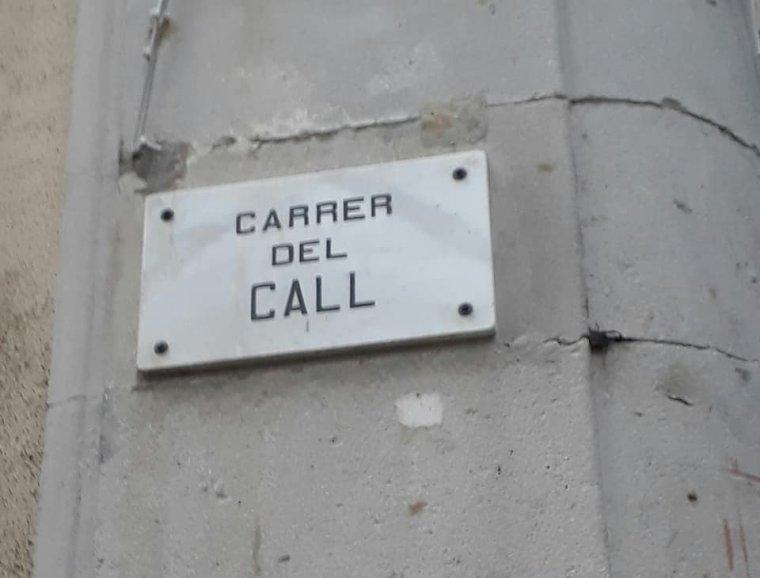 Carrer del Call, a Barcelona
