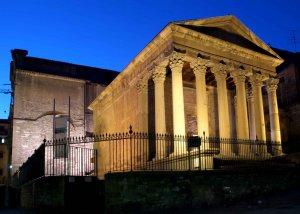 El temple romà de Vic