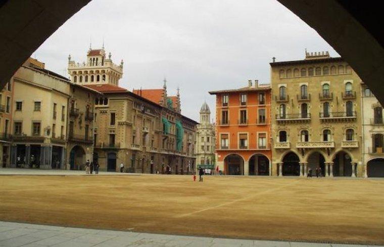 Plaça Major de Vic