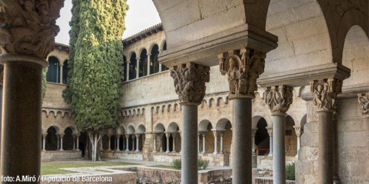 Claustre del Monestir de Sant Cugat del Vallès