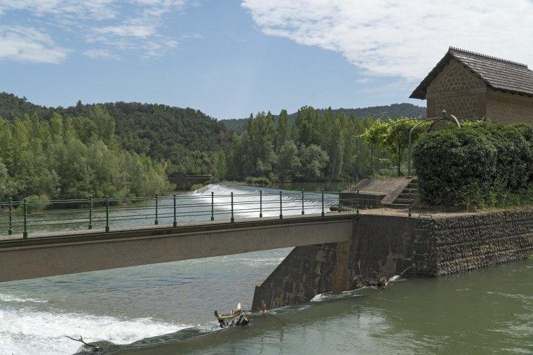 Presa del canal d'Urgell