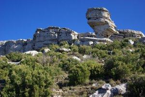 Tivissa. Formació singular al Mont-redon, serra de Llaberia
