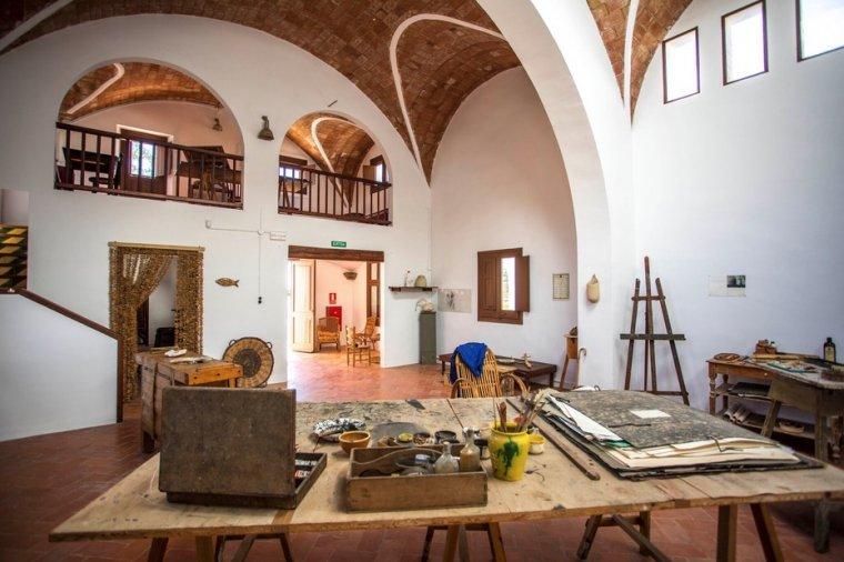El taller de Joan Miró