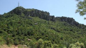 Restes del Castell d'Altafalla