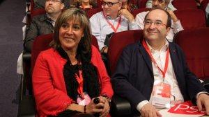 Iceta, Montilla i Marín contacten amb Puigdemont i Sáenz de Santamaría per evitar la declaració d'independència.