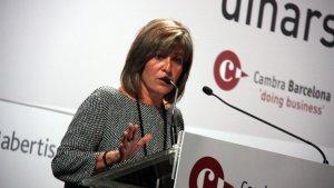 Núria Marín demana a la Generalitat que confirmi que no s'ha proclamat la independència.