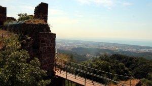 Gavà invertirà prop de quatre milions d'eruos en la conservació i restauració del castell d'Eramprunyà.