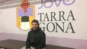 Aleix Bordas, cap de colla de la Jove de Tarragona.